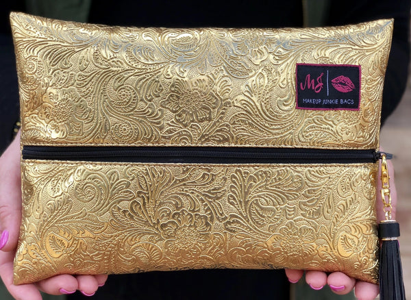 Fool's Gold Makeup Junkie Bag