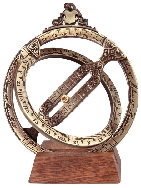 Hemisferium Astronomical Ring Dial Astrolabe