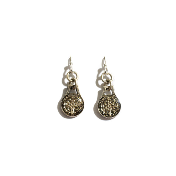Virgins Saints & Angels Les Celeste San Benito Earrings  - Silver