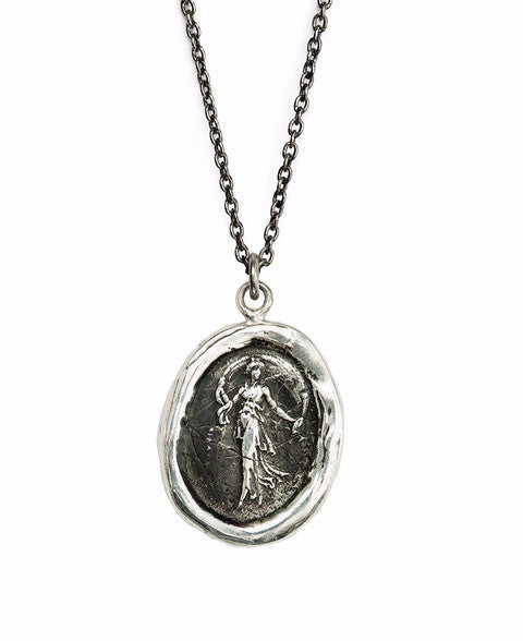 Pyrrha Festive Spirit - The Greek Goddess Thalia Talisman Necklace
