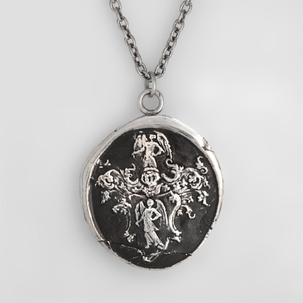 Pyrrha Angels Talisman Necklace