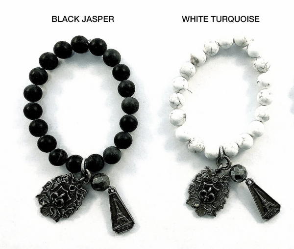 Special Holiday Promotion! Buy 1 French Kande Fleur de Lys Bracelet for $25 with $250 Purchase