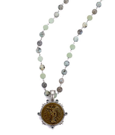 French Kande St. Michel Meadow Mix Necklace