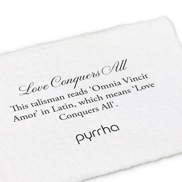 Pyrrha Love Conquers All Necklace in Silver