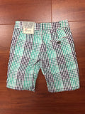 Polo & Plaid Shorts Set