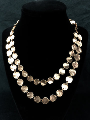 Multiple Row Necklace