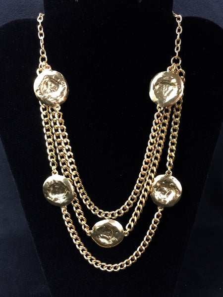 Medallion Gold Necklace