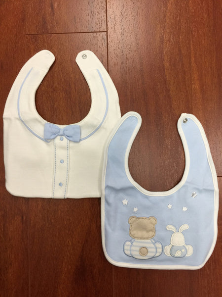 Light Blue Bib Set