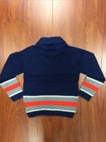 Blue Block Sweater