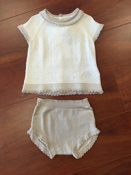 Knit Short Set