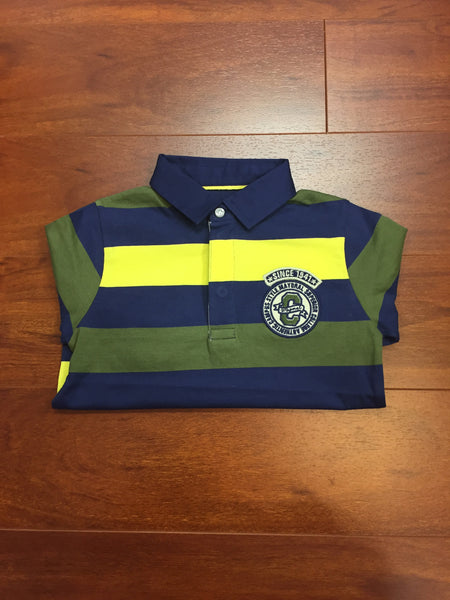 Lemon Stripe Polo