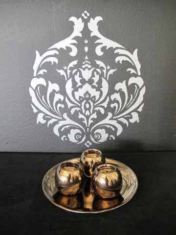Votive Set on Tray