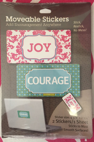 Courage Movable Sticker