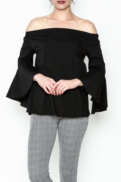 Black Orlon Top