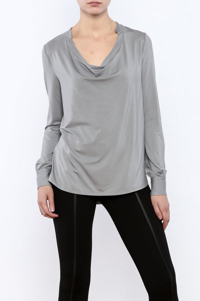 Deep Cowl Neck Top