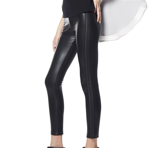 Leather Band Legging
