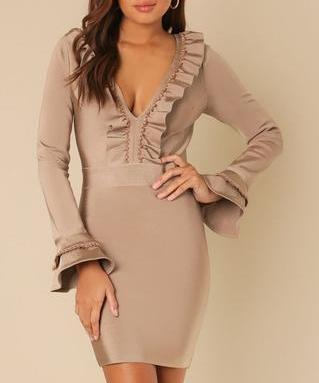 Caralyn Bell Sleeve Dress