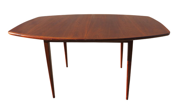 edgebrookhouse - 1970s Danish Modern Walnut Extendable Dining Table