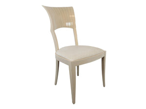 edgebrookhouse - 1980s Art Deco Inspired Pietro Costantini for Ello Fan Back Side Chair