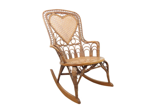 edgebrookhouse - Antique Victorian Rocking Chair by Heywood Brothers