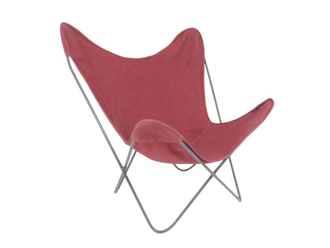 edgebrookhouse - 1960s Knoll Hardoy Mid-Century Modern Iron Frame Butterfly Chair