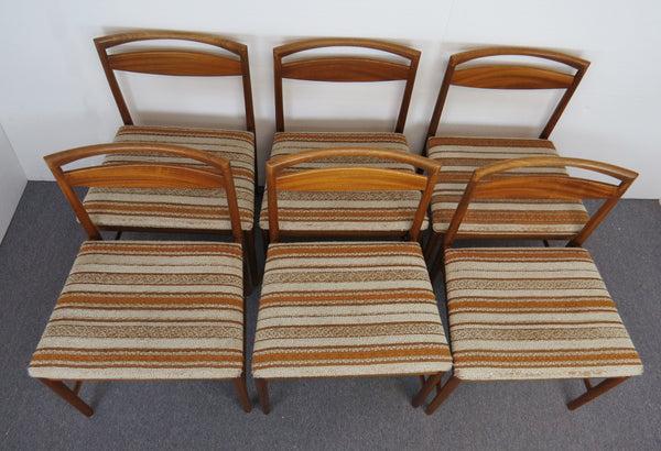 edgebrookhouse - 1960s Mid-Century Modern Rosewood Dining Chairs by Tom Robertson for A.H. McIntosh - Set of 6