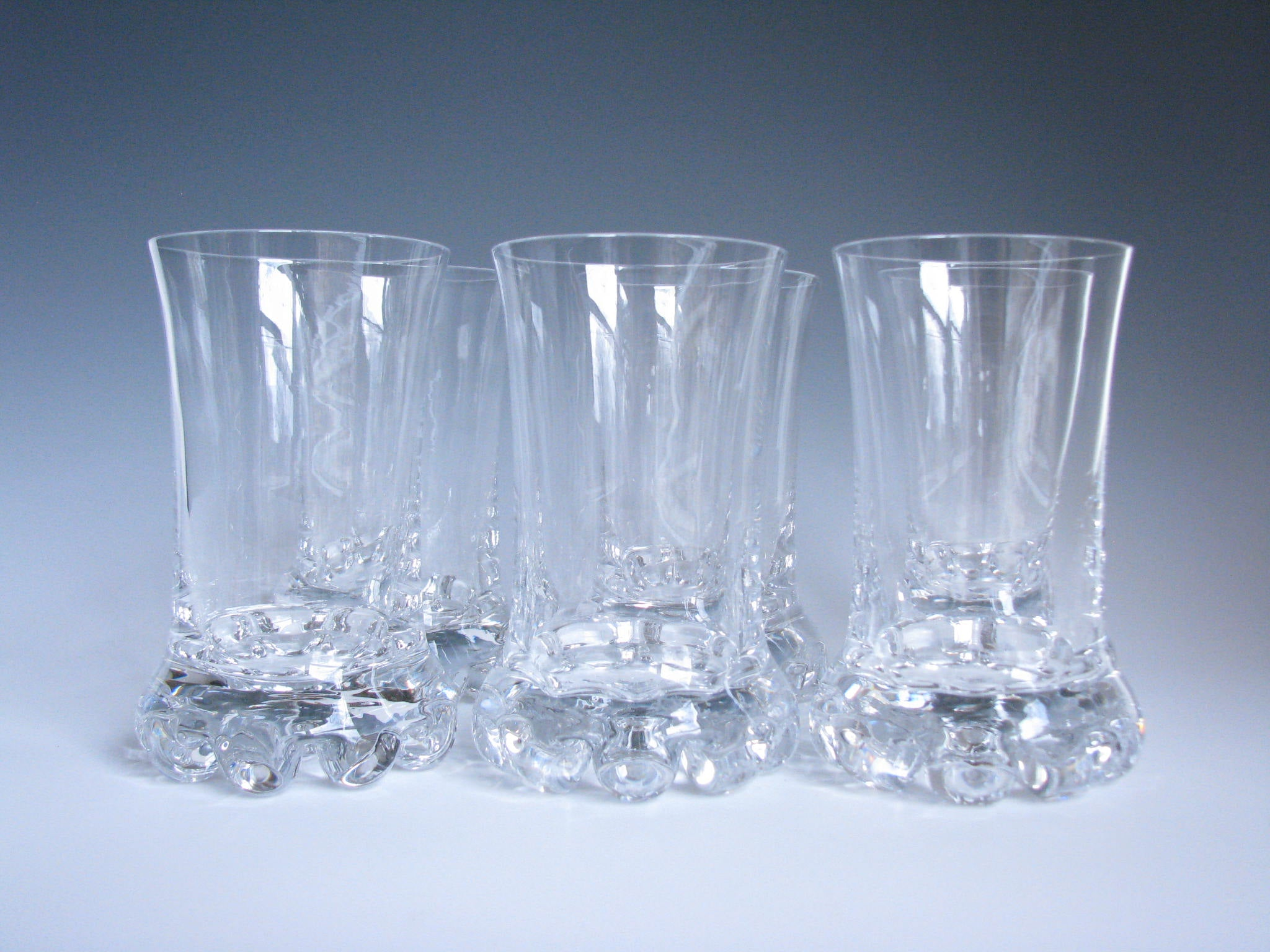 edgebrookhouse - Vintage Kosta Boda Buster Hiball Glasses - Set of 6