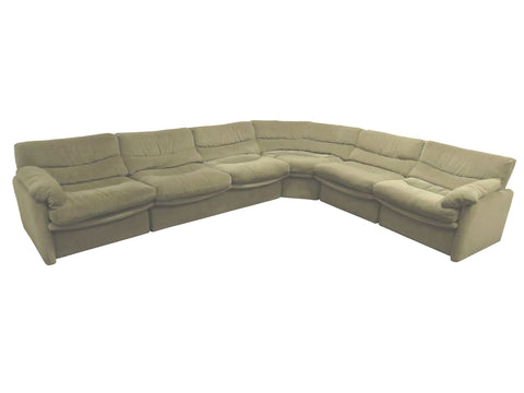 edgebrookhouse - 1970s Mid-Century Modern Modular Sectional Sofa by HTB a Division of Lane Furniture