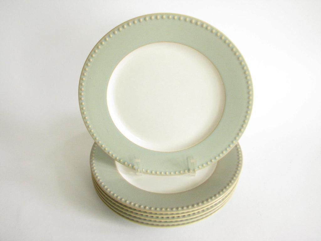 "s 10 3//4/"" of 4 Very good Dansk REACTIVE SAGE Dinner plate set"