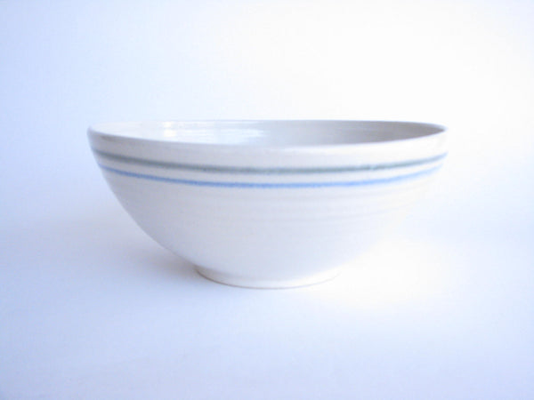 edgebrookhouse - Handmade Pottery Serving Bowl Featuring Floral Design