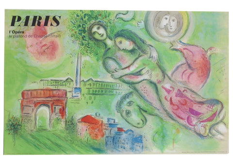 Marc Chagall Paris l'Opera Romeo & Juliet Lithographic Poster