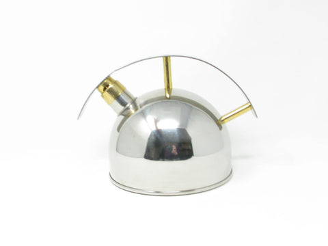 edgebrookhouse - Modernist Chantal Saturn Stainless Steel Whistle Tea Kettle