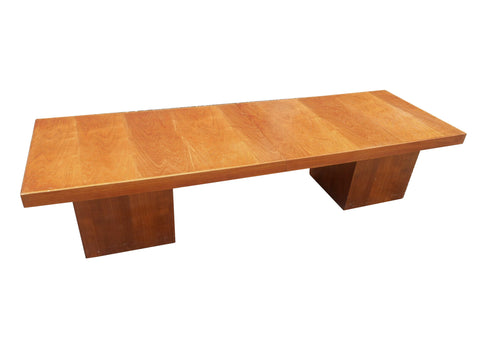 edgebrookhouse - Vintage 1960s John Keal for Brown Saltman Walnut Extendable Coffee Table