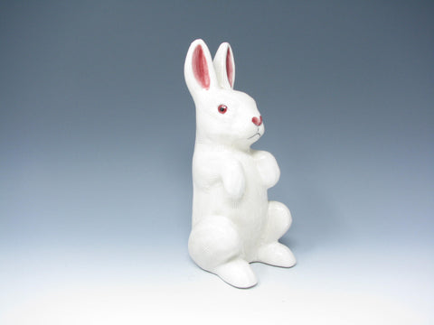edgebrookhouse - Vintage Ceramic Rabbit Figurine with Textured Body