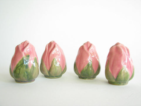 edgebrookhouse - Vintage Franciscan Desert Rose Salt and Pepper Shakers - 4 Pieces