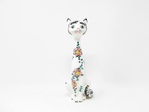 edgebrookhouse - Vintage Japanese Handpainted Ceramic Cat by Embassy Quality Products