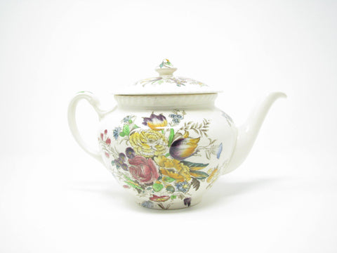 edgebrookhouse - Vintage Johnson Brothers Garden Bouquet Teapot