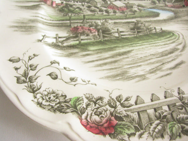 edgebrookhouse - Vintage Johnson Brothers The Road Home Dinner Plates - Set of 4