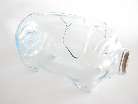edgebrookhouse - Vintage Libbey This Little Pig Went to Market 5 Gallon Glass Jar