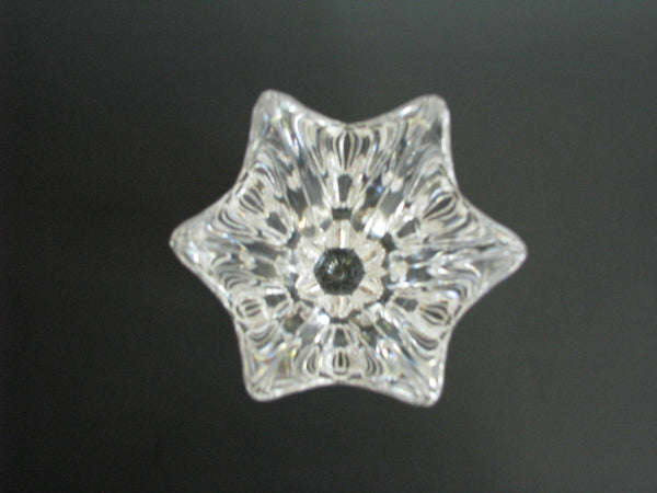 edgebrookhouse - Vintage Orrefors Belle Crystal Vase Designed by Jan Johansson