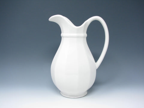 edgebrookhouse - Vintage Pfaltzgraff Heritage White Large Ceramic Pitcher