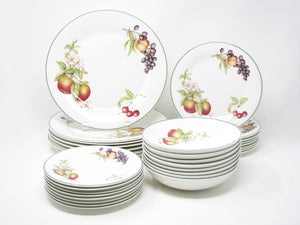 Vintage Royal Doulton St. Michaels Ashberry Dinnerware Set - 8 Place Settings - 32 Pieces