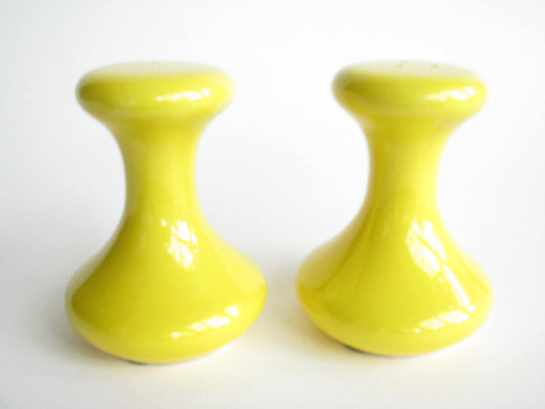 edgebrookhouse - Vintage Yellow Ceramic Salt & Pepper Shakers by Holiday Designs