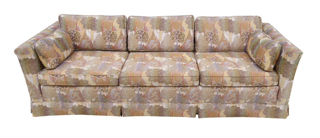 Fabulous Vintage Ethan Allen Sofa With Jack Lenor Larsen Style Fabric Gmtry Best Dining Table And Chair Ideas Images Gmtryco