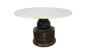 edgebrookhouse - Late 19th Century Antique Japanese Meiji Bronze Jardiniere Occasional Table