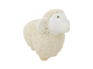 edgebrookhouse - Vintage Woodlodge English Garden Glazed Ceramic Standing Sheep - 2 Available