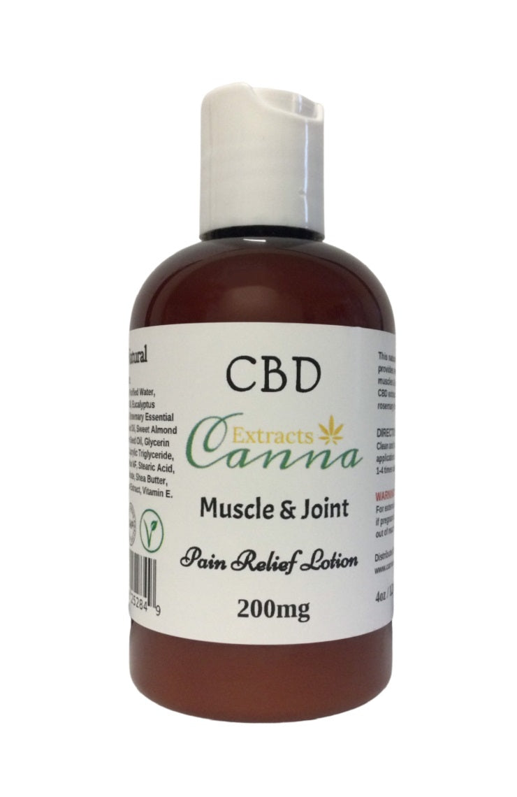 Canna Extracts CBD Muscle & Joint Lotion 200mg/120ml