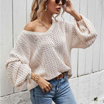 Billow Sleeve Women's Sweater