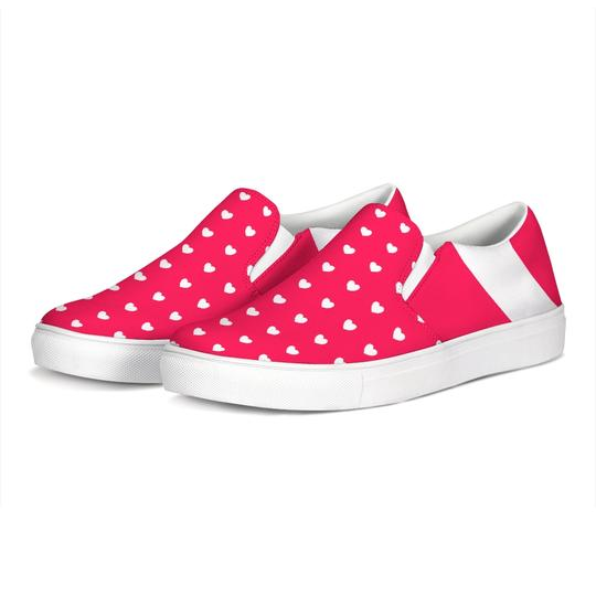 Love Me Heart Slip On Shoe