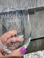 Marshfield Mama Stemless Wine Glass